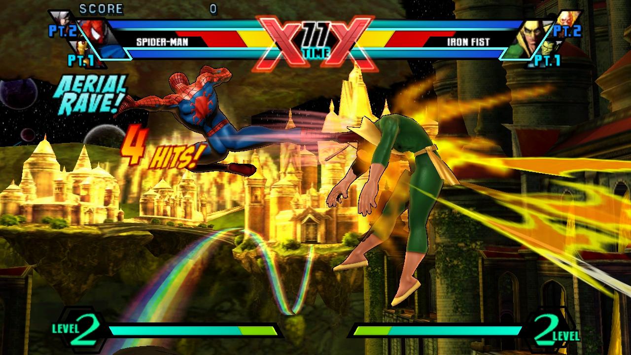 Resultado de imagem para Ultimate Marvel vs Capcom 3 spider man