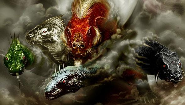 A R T E - 100 Imagens de Dragões (Dragons Images)