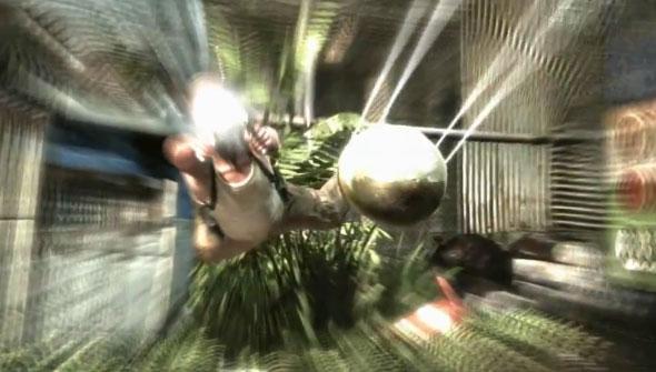 Bullet Time explodiu nos cinemas em Matrix , em 1999. Mas nos games