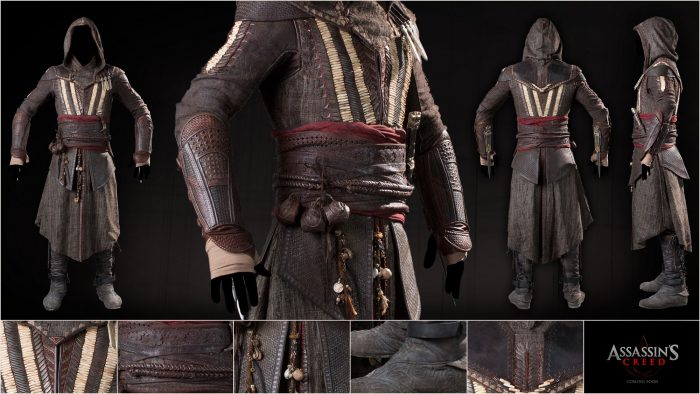 roupa assassins creed
