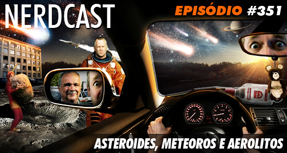 asteroides meteoros e aerolitos jovem nerd