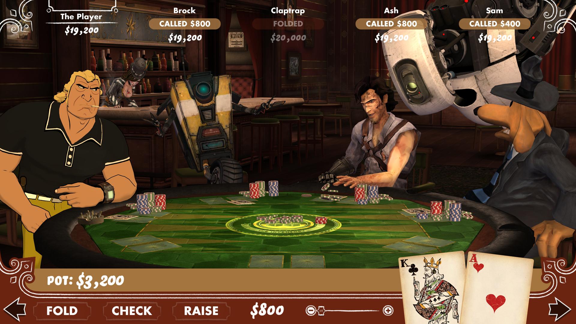 Poker evening