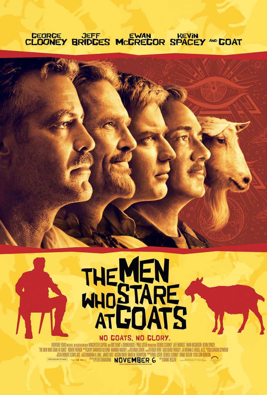 themenwhostareatgoats poster - �zel Kuvvetler - The Men Who Stare At Goats     (19 Mart 2010)